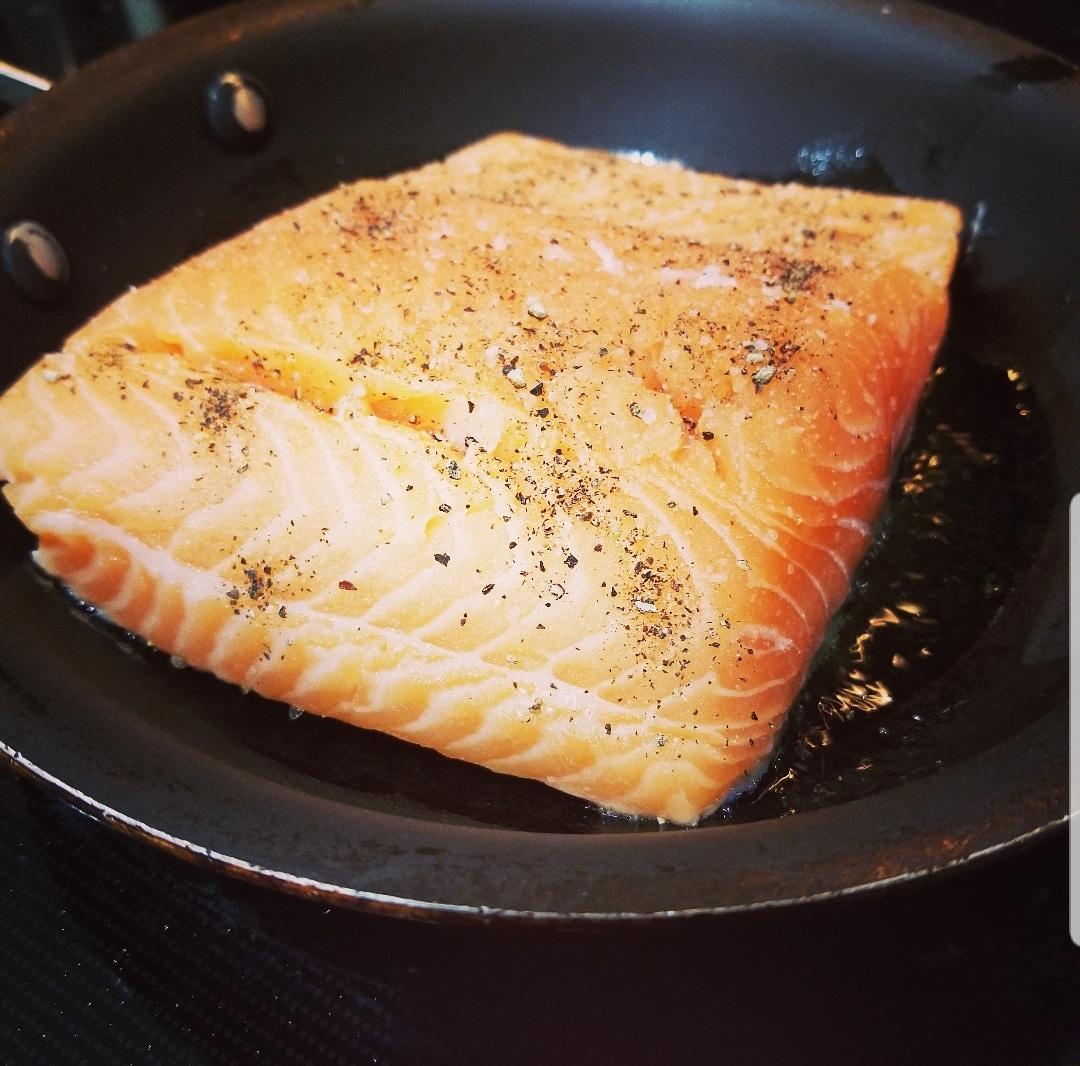 season salmon for crusted salmon recipe