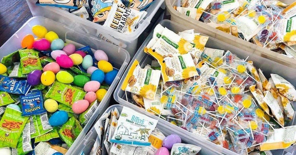 Easter basket giveaways